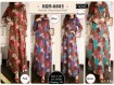 Gamis Katun Motif Batik XL #6002