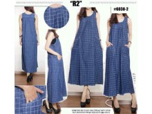 Dress Jeans Jumbo Kotak Kotak #60382
