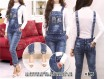 Jumpsuit Jeans Big Size #615 XL/2XL/3XL