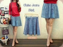 Claire Jeans Skirt #6161