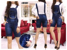 Overall Jeans 3/4 #661 S/M/L