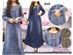 Gamis Jeans Bordir #674