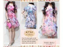 Dress Casual Pastel #730