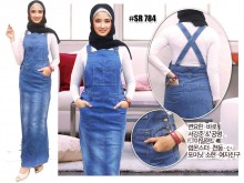 Dress Span Jumpsuit New #784 M / L / XL