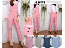 Overall Celana Denim Chambray #8077-5