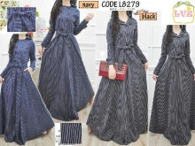 Long Coat Garis #8279
