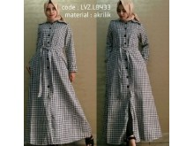 Long Coat Acrylic Rajut #8433