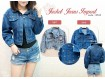 Jaket Jeans Oversized XL #8512 IMPORT