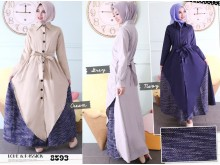 Jaket Dress Layer Tenun#8593