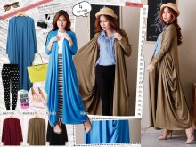Long Cardi Waterfall #9000