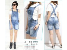 Overall Jeans Wash Snow #SR940
