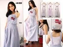 Overall Dress New York Patch #SR959