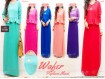 Gamis Peplum Kalung #9758