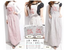 Overall Dress Katun Bordir Pop Candy #SR976