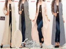 Long Cardi Stripes #97750