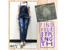 Jumpsuit Boy Friend Jeans Import #9972