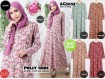 Gamis Flower Polly jade #AG5033