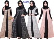 Gamis Premium Set Jilbab Motif Kotak #5006A