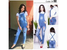 Overall Jeans Bordir Jennifer Coppen #160 M/L/XL