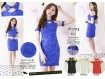 Cheongsam Dress Kerah Tile #1703
