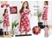 Sabrina Wafel Dress Kombi Tile #1762