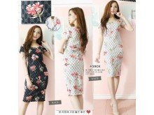 Bodycon Dress Scuba Gucci Floral #59CK