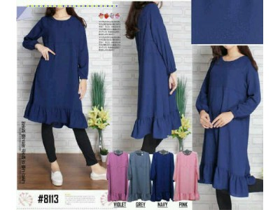 Tunik Dress Hijab #8113