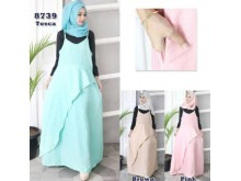 Set Dress Layer Dengan Manset #8739