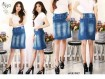 Rok Span Jeans Stretch #997 M/L/XL