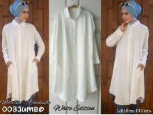 Dress Kemeja Panjang Jumbo #003J