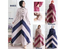 Maxi Coat Cotton Stretch #8683