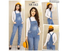 Jumpsuit Jeans Stretch Baru #142 M/L/XL