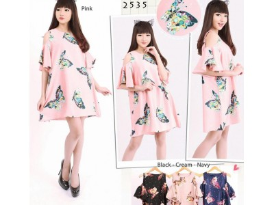 Casual Dress Butterfly #2535
