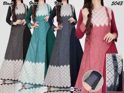 Gamis Dress Maxi Katun #5043