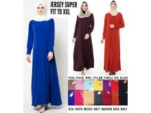 Gamis Basic Jersey Fit to XXL #8199