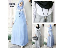 Set Hijab Dress Dan Manset #8705