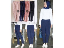 Celana Tulip Plisket Fit to XL #NC44
