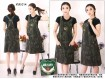 Overall Dress Army Stretch #014
