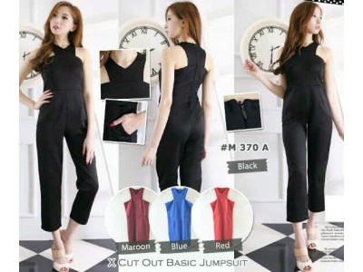 Halter Neck Jumpsuit #370a