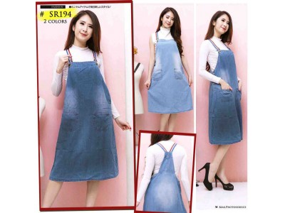 Overall dress jeans tali renda #194