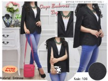 Blazer Cape Wedges #106