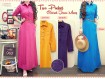 Gamis Jeans Warna Belt #962