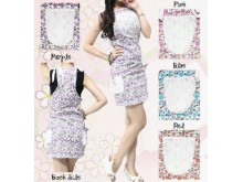 Dress Jumpsuit Flower #350