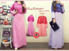Gamis Soft Jeans Bros XL #954