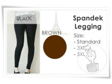 Legging Spandeks Basic #L03 JUMBO 5XL