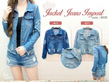 Jaket Ripped Jeans #8505 IMPORT