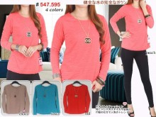 Sweater Manset Kalung Chanel #547