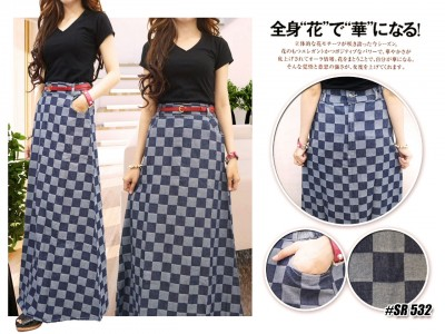 Maxi Skirt Jeans #532