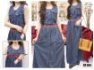 Gamis Kensi Jeans Salur #584