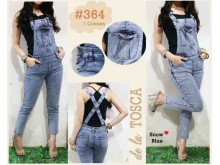 Jumpsuit Jeans 7/8 Snow #364 M/L/XL